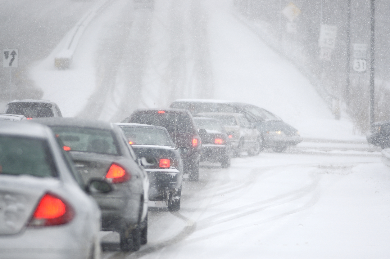 defensive driving in the winter